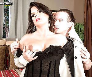 Mature lady raquel ritz gets hardcore anal sex with a2m end - part 11