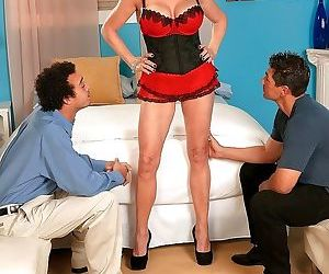 Two young cocks for hit mature rita daniels - part 3309
