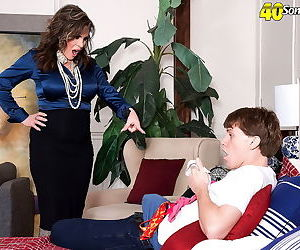 Ciara ryder is a titted mature who loves sucking cocks - part 3275