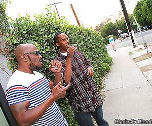 Slutty caroline cross fucks hung black dudes - part 2945