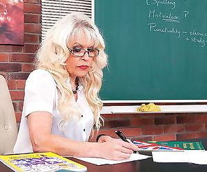 Granny teacher loves fucking her students - part 2565