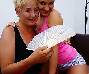 This hot babe loves having sex with her mature lesbian lover - part 278