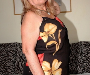 Fat mature woman with saggy tits Dominicka gets screwed by muscle stud