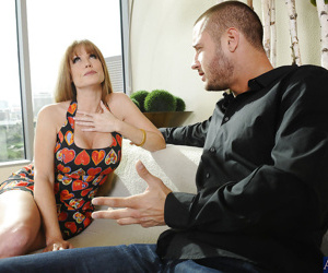 Amazing mature Darla Crane adores fucking with handsome fellows