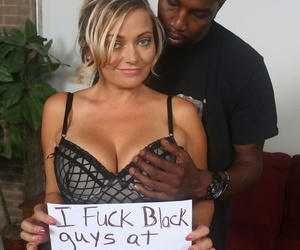 Mesmerizing Lexxi Lash gets nailed in hardcore fashion by a black dude