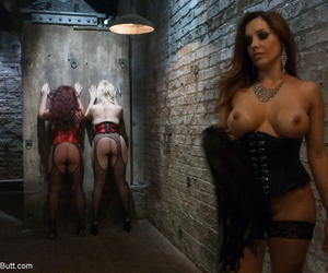 Dominatrix Francesca Le enjoys anal fun with Alice Frost and Savannah Fox