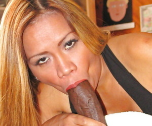 Mature Latina with a hairy pussy Mika Kani has it fucked hardcore