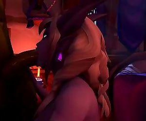 wow porn 3d hardcore big tits wet pussy sex