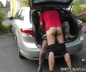 This hot wife knows how to have fun with strangers