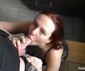 Hurry Up! Im Thirsty But We Have To Go.. So Feed Me! Blowjob & Swallow
