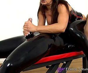 Femdom Handjob from Mistress Angelina - 1 min 12 sec