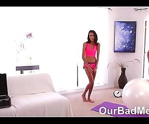 Cum swapping Step mommy and daughterOurBadMom.com 8 min