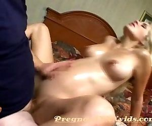 Soon to be mother threesome fucked - 5 min