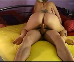 Amateur wife with lover on real homemade