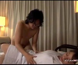 Mature Masseuse Licked Fingered Sucking Guy Fucked Getting Facial On The Bed In - 8 min