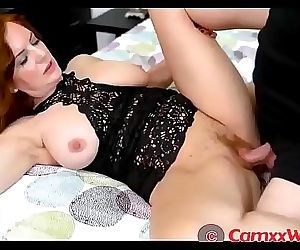 Andi James in Special Arrangement with Mom 18 min HD