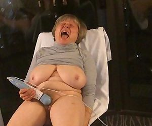BEST mature 12 orgasms hotel window curvy exhibitionist MarieRocks - 2 min