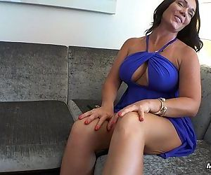 Sexy Big Boobs MILF Swallows Young Cock in StairwellHD