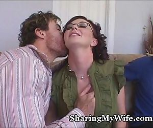 Hot Wifes Hubby Is A Piggy - 4 min