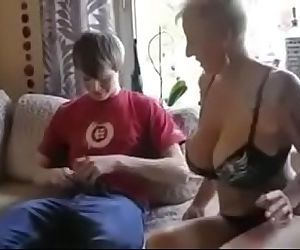 Busty step mom fucked by sons friend 9 min