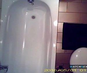 Asian Step Sister Teen Bathroom Spycam Voyeur Hidden Camera WatchSexCam.com 26 min