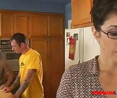 Stepmom Seduces Stepson 24 15 min HD