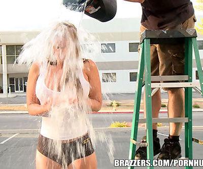 Brazzers - Phoenix Marie ALS Ice Bucket Challenge