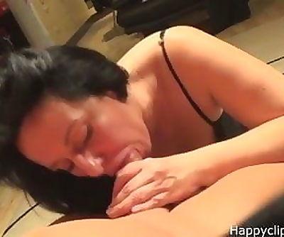 Alisas sensual blowjob