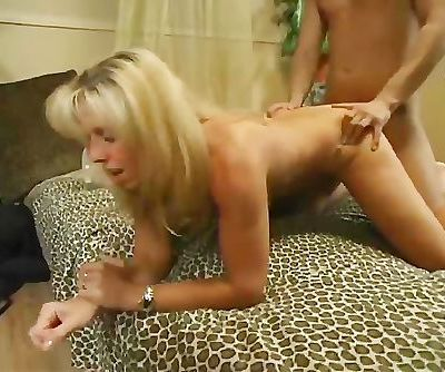 Mature Carol Fucks Her Young Golden Boy