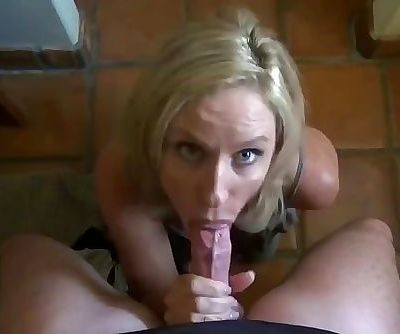 Step Mom Says Cum Before the Date