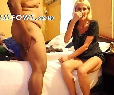 Her Back Has Touched Many A Strange Mattress For It 4 min HD