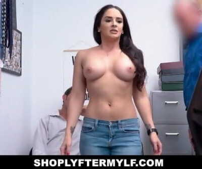 Free Premium Video ShoplyterMylf- Latina Milf Thief Fucked By Guard While Husband Watches
