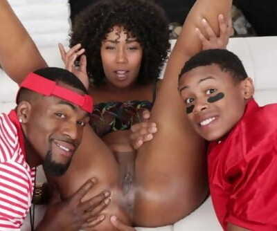 FILTHY FAMILY - Hot MILF Misty Stone Fucks Step Son Lil D And His Coach