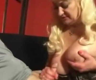 Dana Hayes Smoking a Cock