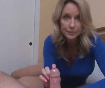 Nice Sex Lesson from Mature MILF POV