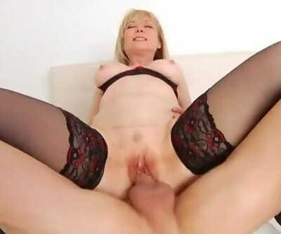Nina Hartley Gets her Timeless Pussy Fucked