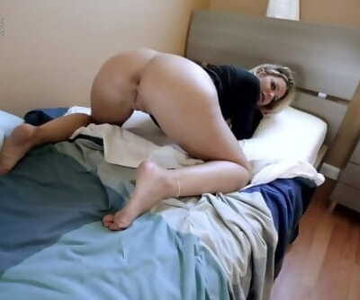 Step Mom with Huge Tits is Stuck Making the Bed - Brooklyn Chase