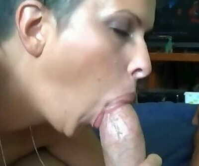 POV Creampie with Amateur Babe to Arouse his Cock