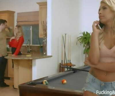 FuckingAwesome - Cherie DeVille Teaches her Step-daughter