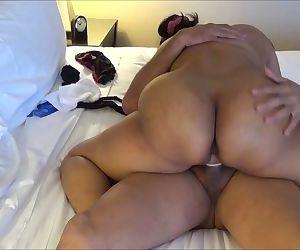 Indian Amateur gal Riding A Hard..