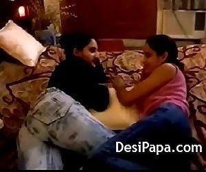 Big Tits Indian Lesbian Teens..