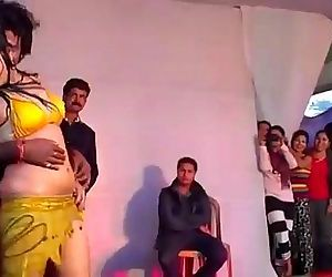Hot Indian Girl Dancing on Stage..