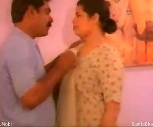 Aunty With Lovely Boobs - 5 min