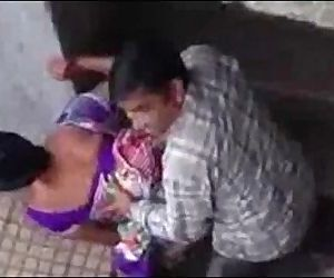Indian Couple Caught On Cam - 3 min