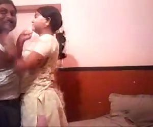 Desi Guy Saajan Enjoying His Slut..