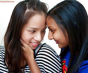 Cute Indian teenagers having girl..