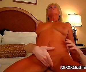 MILF mom blackmailed and fucked..