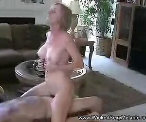 Fucking Amateur Granny Facial
