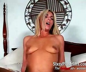 Lucy the blonde mature