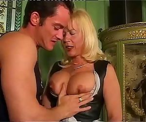 Amazing milf with big tits sucked..